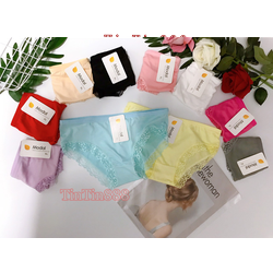 [ảnh shop tự chụp] combo quần lót nữ cotton viền ren, quan lot nu - TinTin888