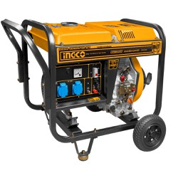 3.0KVA Máy phát điện động cơ dầu INGCO GDE30001