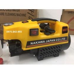 Máy Rửa Xe NAKAWA 2500W-tặng dây 15m, bình xà phòng-bảo hành 12 tháng