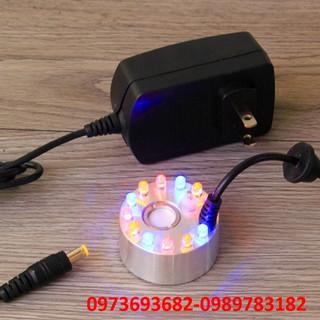 máy tạo khói mini - máy tạo khói ẩm kết hợp đèn led đổi nhiều màu cho thác nước và bể cá - T32K thumbnail