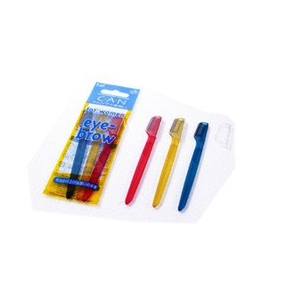Set 3 dao cạo lông mày cán ngắn KAI - dao cạo kai thumbnail