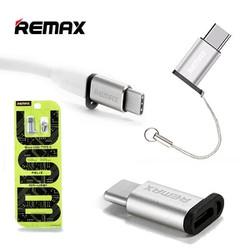 Đầu đổi USB sang Micro REMAX Type-C RA-USB1 - Hàng chính hãng
