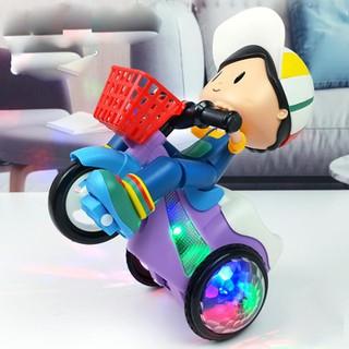 Xe đồ chơi cậu bé xoay 360 độ- phát sáng- có nhạc-Xe đồ chơi cậu bé xoay 360 độ- phát sáng- có nhạc [ĐƯỢC KIỂM HÀNG] - 22824814 thumbnail