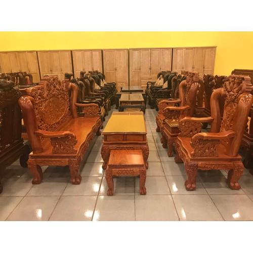 Bộ bàn ghế gỗ hương đá tay 12, 6 món - 18174626 , 22829080 , 15_22829080 , 53900000 , Bo-ban-ghe-go-huong-da-tay-12-6-mon-15_22829080 , sendo.vn , Bộ bàn ghế gỗ hương đá tay 12, 6 món