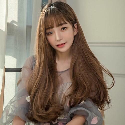 [Tóc giả xoăn nhẹ] [tặng kèm lưới trùm tóc] tóc giải xoăn nhẹ mái thưa hàn quốc- chất tóc tơ nhật sử dụng nhiệt tốt- được chọn màu- tóc xoăn đuôi nhẹ, tóc giải nữ hàn quốc, tóc giả có mái, tóc mái thư - 17923168 , 22808765 , 15_22808765 , 279000 , Toc-gia-xoan-nhe-tang-kem-luoi-trum-toc-toc-giai-xoan-nhe-mai-thua-han-quoc-chat-toc-to-nhat-su-dung-nhiet-tot-duoc-chon-mau-toc-xoan-duoi-nhe-toc-giai-nu-han-quoc-toc-gia-co-mai-toc-mai-thua.-15_22808765