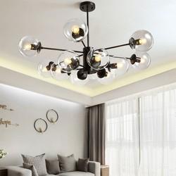 Đèn chùm hiện đại Ý 12 bóng - đèn trang trí nội thất giá rẻ - đèn trang trí nội thất cao cấp