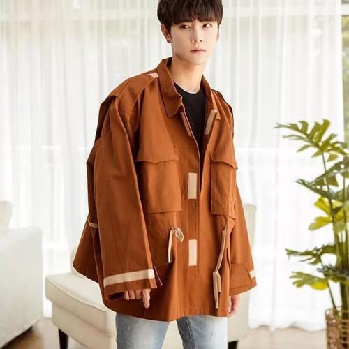Áo jacket kaki