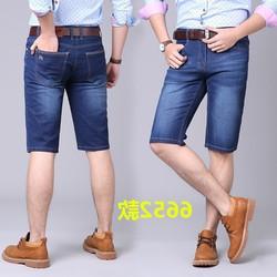 Quần shorts jean nam trơn[ ĐƯỢC KIỂM HÀNG] cao cấp hàng công ty size 27-34