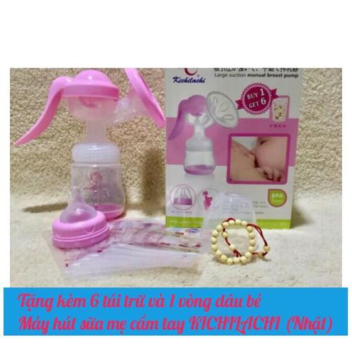 Tặng 6 túi trữ và 1 vòng dâu bé-máy hút sữa mẹ cầm tay kichilachi - 18175206 , 22830033 , 15_22830033 , 98000 , Tang-6-tui-tru-va-1-vong-dau-be-may-hut-sua-me-cam-tay-kichilachi-15_22830033 , sendo.vn , Tặng 6 túi trữ và 1 vòng dâu bé-máy hút sữa mẹ cầm tay kichilachi