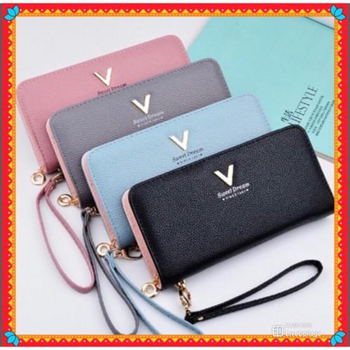 Siêu sale ví dài nữ cầm tay v sweet siêu cấp v276 dễ thương cực đẹp