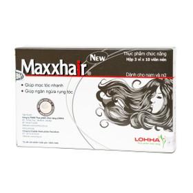 Maxhair giúp mọc tóc chống rụng tóc - maxxhair