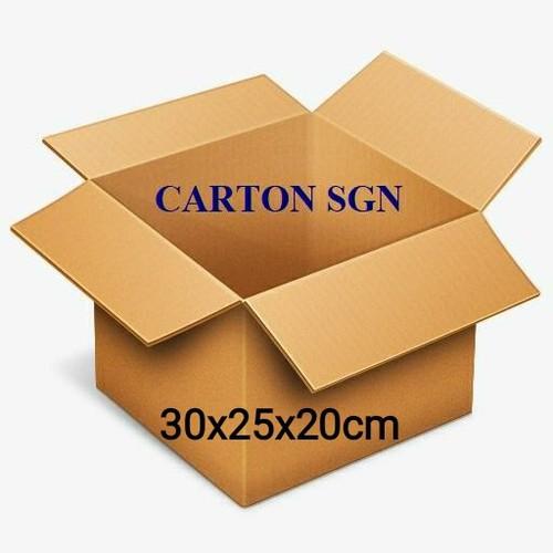 Combo 20 thùng carton 30x25x20cm  hộp -thùng giấy carton giá rẻ - 18161383 , 22810607 , 15_22810607 , 115000 , Combo-20-thung-carton-30x25x20cm-hop-thung-giay-carton-gia-re-15_22810607 , sendo.vn , Combo 20 thùng carton 30x25x20cm  hộp -thùng giấy carton giá rẻ