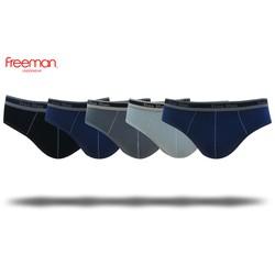 Quần lót nam Freeman, chất liệu cotton thoáng mát, thiết kế trẻ trung, giá thành phù hợp [Combo 5] BO301