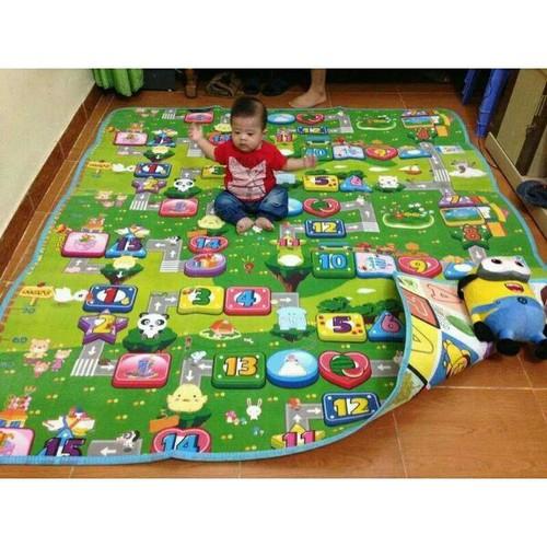 Combo sỉ 5 tấm thảm xốp 2mặt maboshi kt3mx2m