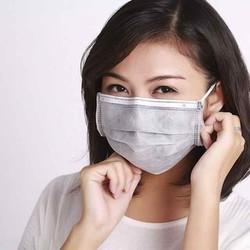 50 cái KHẨU TRANG Y TẾ 4 LỚP CAO CẤP sợi vải kháng khuẩn