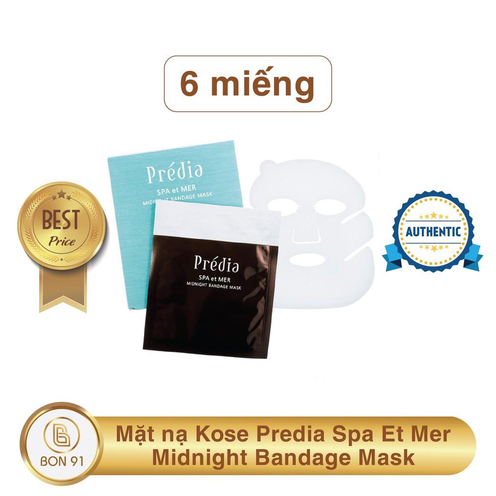 6 Miếng Mặt Nạ Kose Predia Spa Et Mer Midnight Bandage Mask