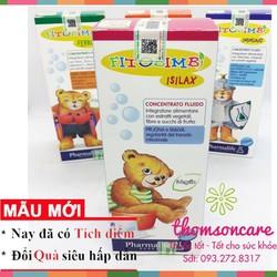 Siro Chống táo bón cho trẻ Fitobimbi Isilax | Thảo dược Italya | Hỗ trợ hệ tiêu hóa