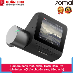 Camera Hành Trình Xiaomi 70mai Dash Camera Pro - MIDRIVED02 - 70MAIPROND