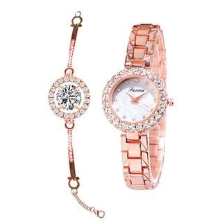 ĐỒNG HỒ NỮ RẺ, đồng hồ nữ, ĐỒNG HỒ NỮ THỜI TRANG, đồng hồ nữ siêu xinh - ĐỒNG HỒ 5015a thumbnail