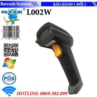 Máy quét mã vạch không dây Barcode Scanner Euccoi 1D L002W nhanh và dễ sử dụng - Mã vạch L002W thumbnail