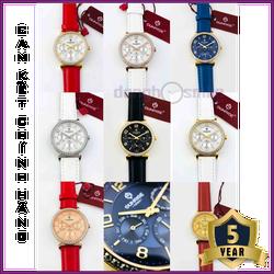 Đồng hồ nữ Sunrise since 1893 dây da 9806BA