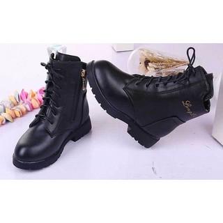 Giày Boot cao cổ cho bé gái phong cách hàn quốc - BBG10 [ĐƯỢC KIỂM HÀNG] 22208903 - 22208903 thumbnail