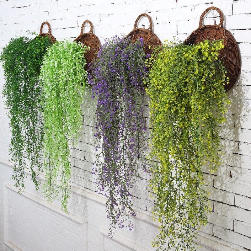 Dây hoa lụa nhân tạo trang trí nhà cửa lễ tiệc sự kiện