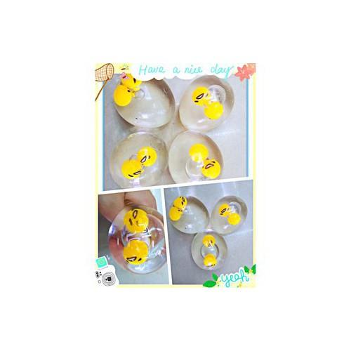 Răng khểnh trút giận trứng biến thái móc khóa