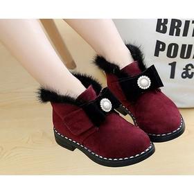 Giày Boot cao cấp cho bé gái phong cách hàn quốc - B09 - B09