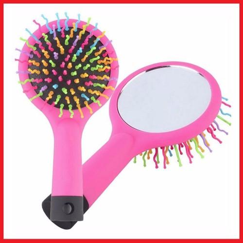 Lược chải tóc massage cầu vồng kèm gương miniso - 19198567 , 22210743 , 15_22210743 , 69000 , Luoc-chai-toc-massage-cau-vong-kem-guong-miniso-15_22210743 , sendo.vn , Lược chải tóc massage cầu vồng kèm gương miniso