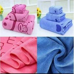 Set 2 khăn tắm- Khổ 70*140cm- Tiện dụng cho mọi nhà- MAX RẺ 4T