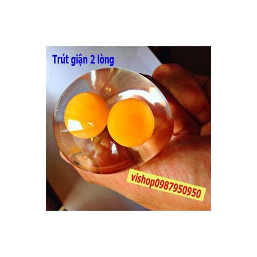 Răng khểnh gudetama squishy trứng gà trút giận móc khóa