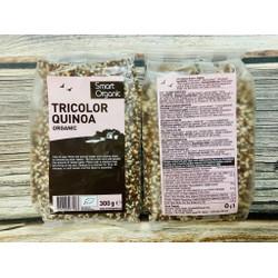 Diêm mạch Quinoa mix 3 mầu Smart Organic 300g