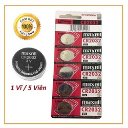 COMBO 2 VĨ Pin MaxceiL CMOS CR2032 - atmshop
