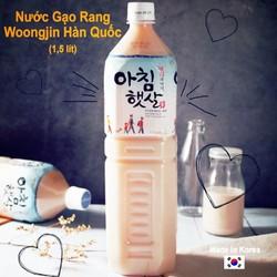 Nước gạo Hàn Quốc WoongJin _Chai 1.5L