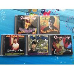 Bộ 5 CD tuyển chọn Quang Lập