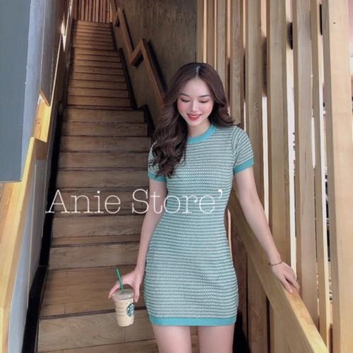 Hot new váy ôm body len xanh hạt gạo viền bo siêu đẹp - 16998463 , 22202577 , 15_22202577 , 156000 , Hot-new-vay-om-body-len-xanh-hat-gao-vien-bo-sieu-dep-15_22202577 , sendo.vn , Hot new váy ôm body len xanh hạt gạo viền bo siêu đẹp