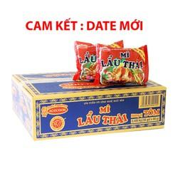 Mì lẩu thái 1 thùng 30 gói CAM KẾT DATE MỚI