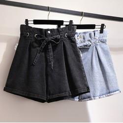 M60377 - Quần jean ngắn nữ cho người mập