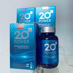 Combo 2 hộp 20 Power - Hỗ trợ sức khoẻ nam giới