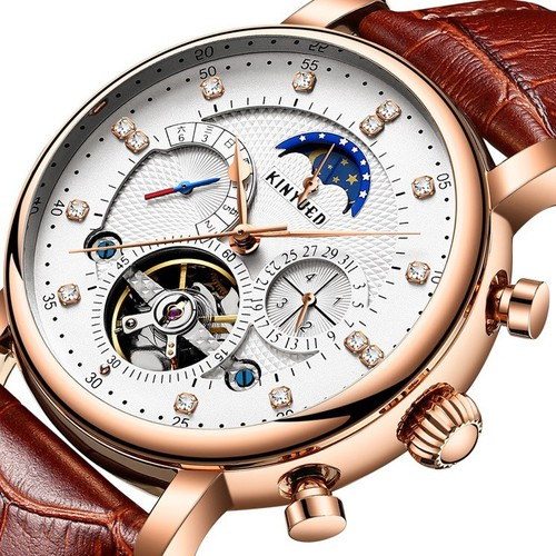 [Cho xem hàng] đồng hồ cơ nam kinyued 025 chính hãng nhật bản -j1008-h