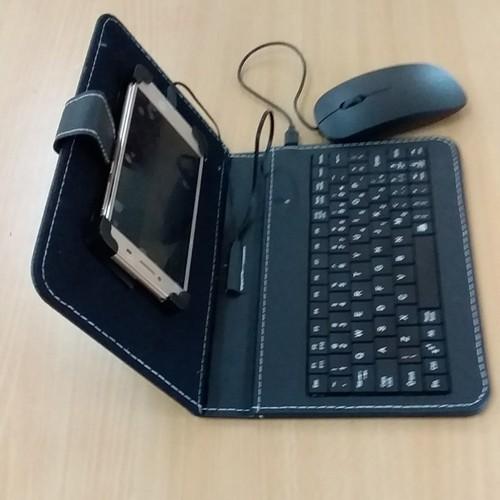 Bao da bàn phím điện thoại có dây xả lỗ