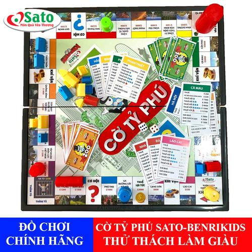 Đồ chơi cờ tỷ phú hãng sato việt nam giúp bé tư duy làm giàu - 19122135 , 22208742 , 15_22208742 , 119000 , Do-choi-co-ty-phu-hang-sato-viet-nam-giup-be-tu-duy-lam-giau-15_22208742 , sendo.vn , Đồ chơi cờ tỷ phú hãng sato việt nam giúp bé tư duy làm giàu
