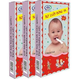 5 hộp Rơ lưỡi cho bé - r01 thumbnail