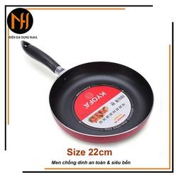 Chảo chống dính hợp kim nhôm 1 quai Kyofa size 22cm
