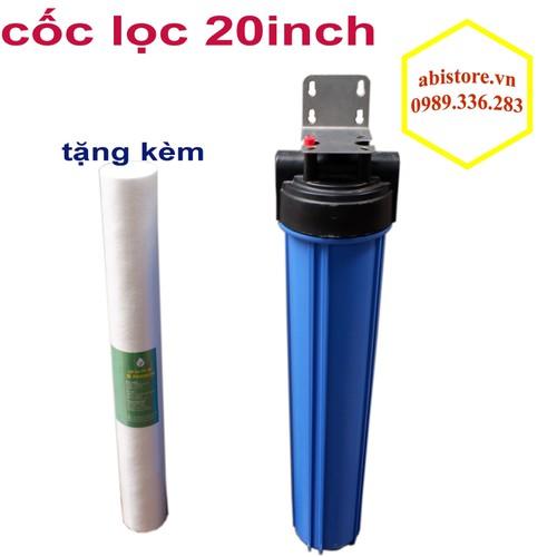 Cốc lọc nước 20 inch lọc thô đầu nguồn tặng kèm 1 lõi lọc nước - 17045064 , 22207989 , 15_22207989 , 240000 , Coc-loc-nuoc-20-inch-loc-tho-dau-nguon-tang-kem-1-loi-loc-nuoc-15_22207989 , sendo.vn , Cốc lọc nước 20 inch lọc thô đầu nguồn tặng kèm 1 lõi lọc nước