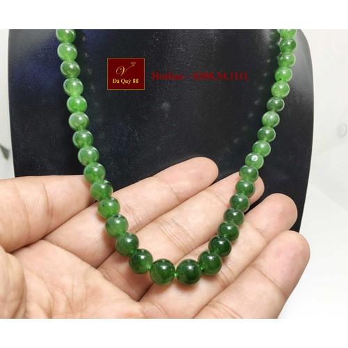 Chuỗi vòng cổ đá ngọc bích tự nhiên myanmar xanh lá chất ngọc 8mm, bao kiểm định - 18181769 , 22839462 , 15_22839462 , 2650000 , Chuoi-vong-co-da-ngoc-bich-tu-nhien-myanmar-xanh-la-chat-ngoc-8mm-bao-kiem-dinh-15_22839462 , sendo.vn , Chuỗi vòng cổ đá ngọc bích tự nhiên myanmar xanh lá chất ngọc 8mm, bao kiểm định