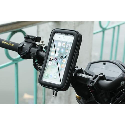 Hot giá đỡ chống nước cho điện thoại từ 4 7 6 inch gắn chân kính xe máy sgs