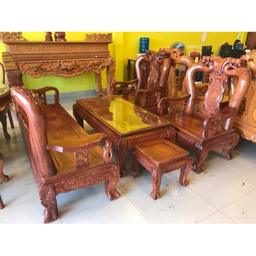 Bộ bàn ghế chạm đào gỗ cẩm lai tay 12 - 18188767 , 22848900 , 15_22848900 , 49500000 , Bo-ban-ghe-cham-dao-go-cam-lai-tay-12-15_22848900 , sendo.vn , Bộ bàn ghế chạm đào gỗ cẩm lai tay 12