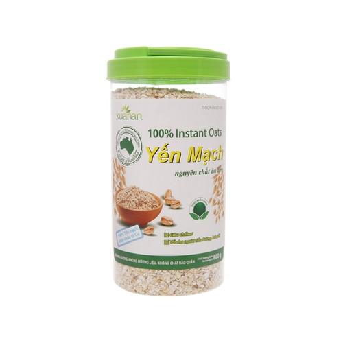 Yến mạch xuân an nguyên chất ăn liền hộp 800g - 18187844 , 22847745 , 15_22847745 , 177500 , Yen-mach-xuan-an-nguyen-chat-an-lien-hop-800g-15_22847745 , sendo.vn , Yến mạch xuân an nguyên chất ăn liền hộp 800g